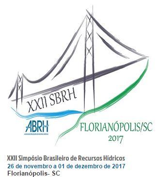 XXII SIMPÓSIO BRASILEIRO DE RECURSOS HÍDRICOS