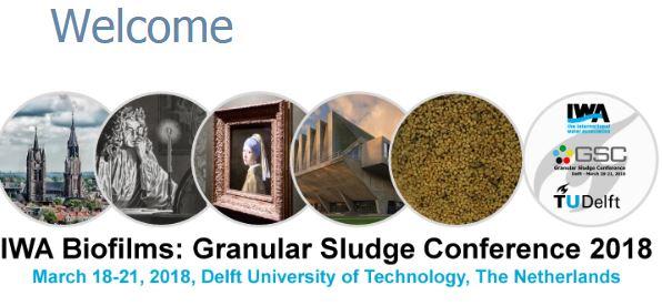 IWA Biofilms: Granular Sludge Conference 2018