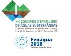 XX Congresso Brasileiro de Águas Subterrâneas - FENAGUA 2018
