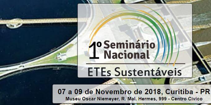 1º Seminário Nacional sobre Estações Sustentáveis de Tratamento de Esgoto
