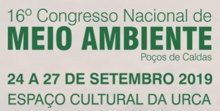16º Congresso Nacional do Meio Ambiente
