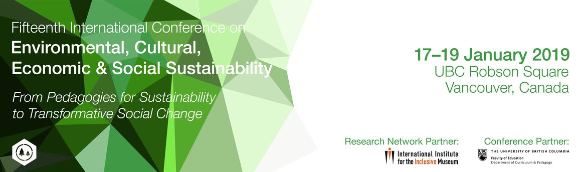 15º International Conference on Environmental, Cultural, Economic & Social Sustainability