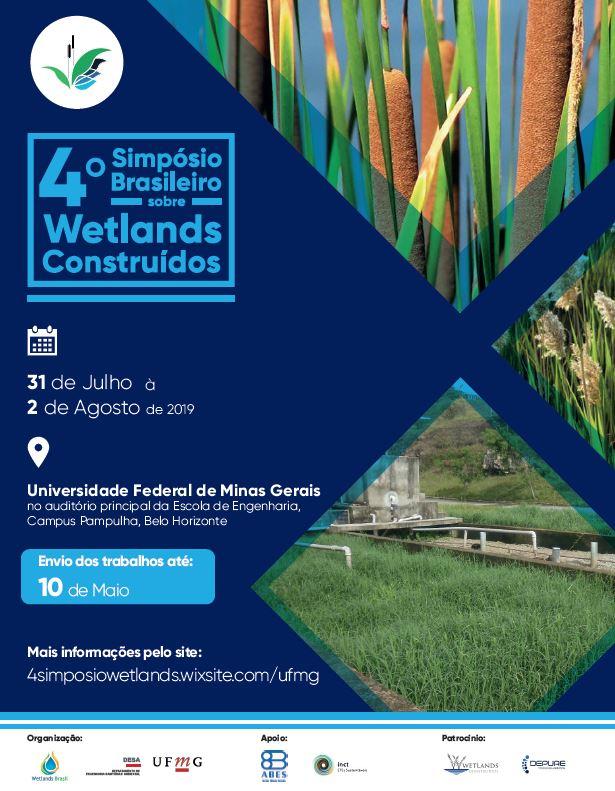 4° Simpósio Brasileiro sobre Wetlands Construídos