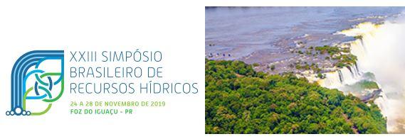 XXIII Simpósio Brasileiro de Recursos Hídricos