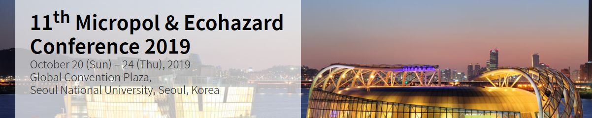 11th Micropol & Ecohazard Conference 2019