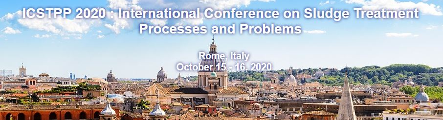 ICSTPP 2020 International Conference on Sludge Treatment Processes and Problems