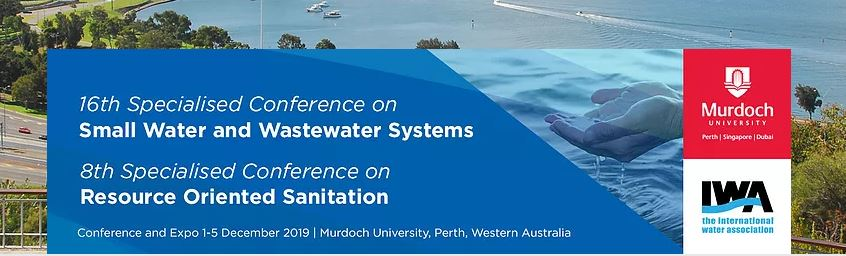 16th International Specialised Conferences on Small Water and Wastewater Systems