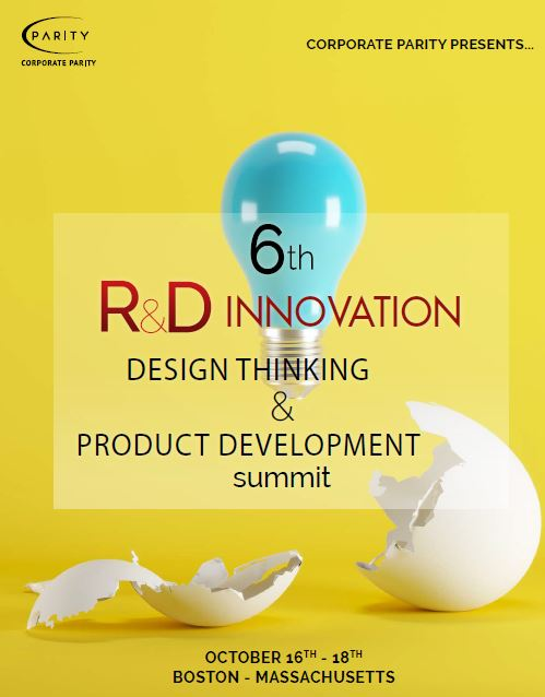 6th R&D Innovation, Design Thinking & Product Development Summit