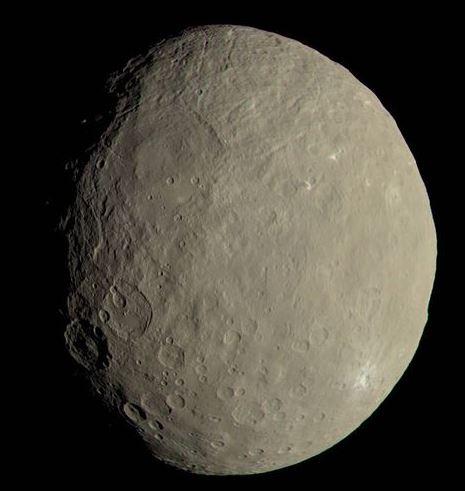Um oceano perdido no espaço: Nasa descobre evidências de água em Ceres