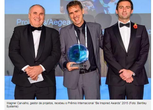 Projeto brasileiro de análise de água vence prêmio em Londres Concessionária Prolagos levou categoria do