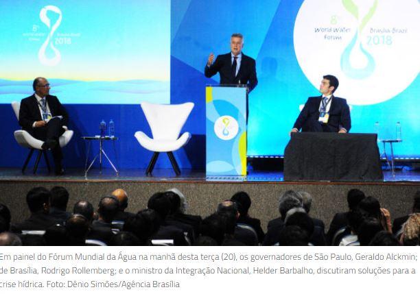 Governadores e ministro da Integração Nacional discutem crise hídrica no Brasil