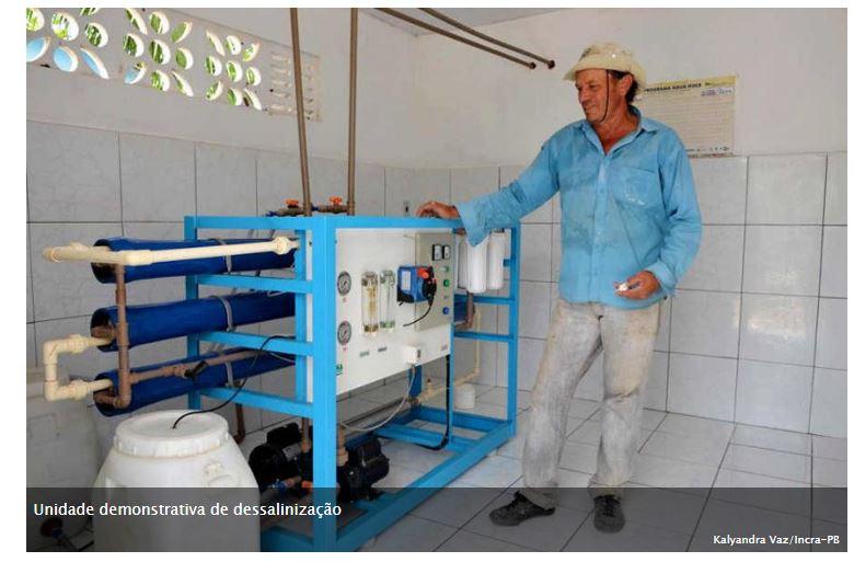 Comissão de Meio Ambiente analisa incentivo à dessalinização da água
