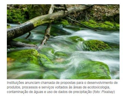FAPESP e Finep apoiarão pesquisas em questões sobre a água