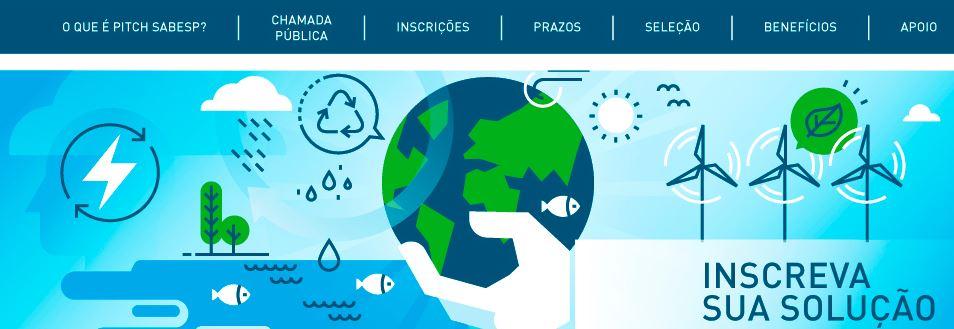 Sabesp seleciona projetos inovadores em saneamento